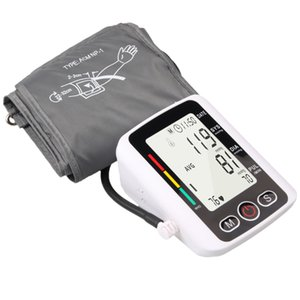 Blood Pressure Monitor online Upper Arm with Automatic Pressure Pump Digital Display Irregular Heartbeat for sale