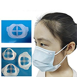 Disposable Mask Holder Comfortable Breathable Non-stick Lipstick 3D mask Inner Support Artifact 3D Mouth Mask Support Breathing EEA2003