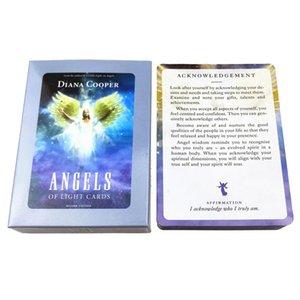 Cartes anges jouant de table Tarot Oracle Cartes Fate divinatoires Jeux pont Light Board Game Version Card bbyqlC de mj_bag