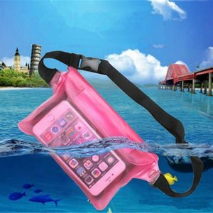 Water-proof bag Case Universal Waist Pack Transparent Waterproof Pouch Case Water Proof Bag Underwater Dry Pocket Cover For Cellphone Phones
