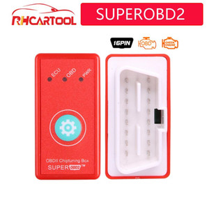 nitro OBD2 Super gibi Superobd2 OBD II ECU Chip tuning Kutusu Tak ve Sürücü arayüzü Reset Button ile dizel araçlar için OBD2