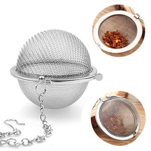 Paslanmaz Çelik Çaydanlık demlik Küre Mesh Çay Süzgeç Dolgu Topu Süzgeç Topu 4CM 4.3CM 5CM