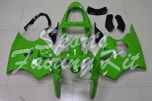Carenatura per la Ninja ZX-6R 2000-2002 Verde carenatura Ninja ZX-6R 2001 carenatura kit Ninja ZX-6R 2000