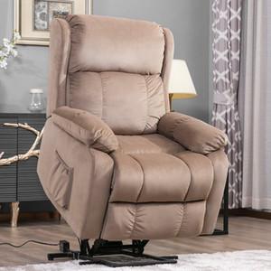 무료 배송 오리스 모피를 고속으로. 원격 PP038658EAA와 파워 리프트 의자 소프트 패브릭 실내 장식 안락 의자 거실 소파 의자