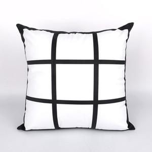 Diy sublimazione Blanks federa Pad nove quadrati Cuscino trasferimento di copertina personalizzata calore Mats manica Pillowslips Divani Comodino 10 5 kr C2
