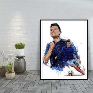 Florian Thauvin Modern Art Home Decoration Posters And Prints Olympique De Marseille Wall Art Canvas Painting