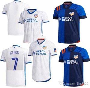 جديد 2020 2021 MLS FC سينسيناتي لكرة القدم بالقميص 20 21 GARZA WASTON BERTONE ADI A.CRUZ أعلى جودة لكرة القدم قميص جيرسي الحجم: S-XXL