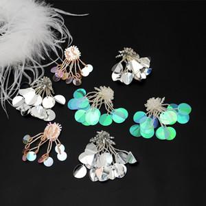20200816 unghie a mano accessori abito da sposa tallone nappa paillettes pasta panno abbigliamento gioielli corpetto fai da te decorativi Sticker