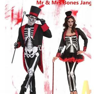 festival fantasma c1axf Halloween Cosplay vestir-se partido skull roupas de palco bola roupas de palco do traje jogo desempenho horror costum