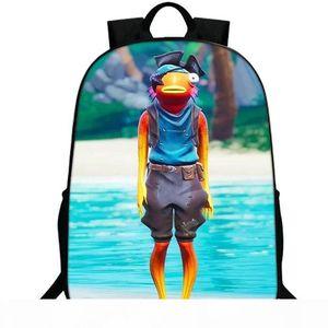 Fishstick рюкзака рыба палка рюкзак Солтуотера ранец Schoolbag Популярной игра рюкзак Спортивной школа сумка Открытого день пакет