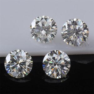 Original Loose Moissanite Diamond 1.2CT-2.5CT VVS1 Test Positive Stone for Rings Earrings Pendant Brilliant Forever With Certificate