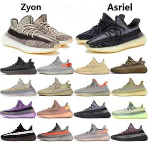 Top Zyon Leinen Reflective Yecheil Des Chaussure Schwarze Frauen-Männer Turnschuhe laufen Lehm-weiße Zebra-Glow Cinder Rücklicht Sport Sapatos