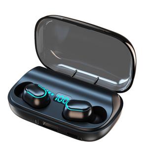 T11 TWS سماعات لاسلكية بلوتوث 5.0 في الأذن سماعه 3300mAh شحن بن ستيريو سماعات الأذن IPX7 الرياضة للماء سماعة للهاتف NEW