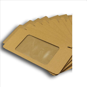 Universal Mobile Phone Case Package Paper Kraft Brown Retail Packaging Box for iphone 7SP 6SP 8SP Samsung 175x105x17mm