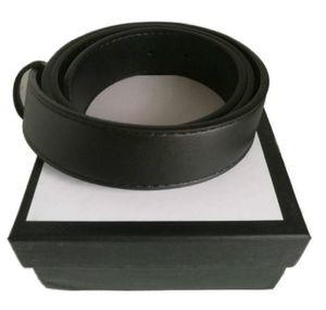 Neue 3.8-3.4-2.0cm Männer Designer Gürtel Womens Hohe Qualität Echtes Leder Gürtel für Mens Luxus Gürtel No Box