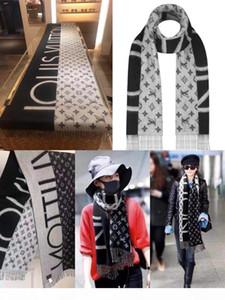 écharpe design de luxe, écharpe en cachemire automne hiver à la mode, la marque haut de gamme écharpe de vente à chaud, taille haute qualité 180 * 70cm gros