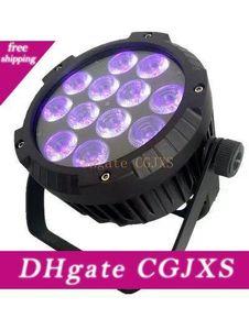 4 adet Açık Sahne Aydınlatma Par IP65 12x18w Led Par Işık Rgbwa UV Açık Led Par 64 Can
