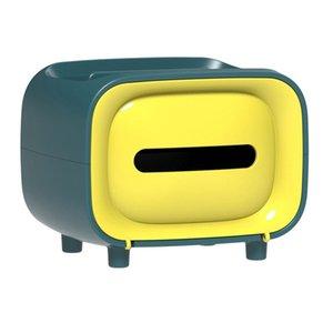 TV Forme Porte-papier hygiénique de rangement serviette hygiénique papier Box Porte Hygiénique Tube Boîte de rangement