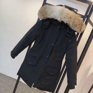 Veste d'hiver Femmes Classic Casual Down Down Coats Styliste Chaud Veste Haute Qualité Unisexe Manteau Outwear 5-Couleur Taille: S-2XL