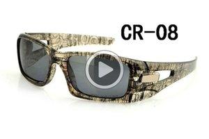 1pcs New High Qlity unisexe sport SQRE Crankcase Lunettes de soleil + cas polarisants Goggle Outdoor Lunettes Cyclisme Eye Wear Livraison gratuite