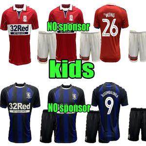 2020 2021 Middlesbrough crianças jérsei de futebol Ashley Michael Fletcher FLINT ASA ASSOMBALONGA 20 21 lar longe criança futebol camisas calções