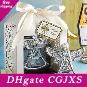Сувениры для рождения Стороны Ангел Дизайн бутылки открывалка пользу для свадьбы Благоприятная Подарочная коробка cumpleaños Anniversaire Lz0259