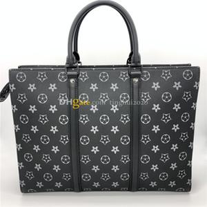 2020 Classics Man Bag Sac Plat Horizontal Zippe M45265 Bolsa de diseñador de alta calidad, Bolsa de computadora Maletín de hombres en stock envío gratis