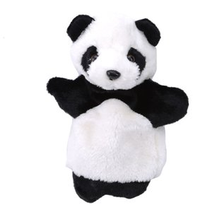 Animal Panda Puppet Baby Kindergarten Cute Soft Hand Puppets Funny Toys Kids Plush Doll Educational Toy
