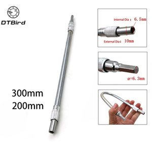 "1 4"" Hex Shank 300mm Flexible Shaft Screwdriver Bits Extention Screwdriver Bit Holder Connect Link For Electronics Drill DT6"