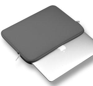 Moda agradável Laptop Sleeve 11/12/13/14/15 polegadas resistente Laptop Bag Neoprene Notebook Computer Caso bolso Tablet Pasta Bolsa de transporte