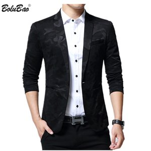 BOLUBAO New Brand Men's Wedding Blazer 2020 Spring Autumn Male Jacket Suit Waistcoat Business Blazers Coat
