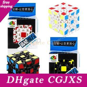 Головоломка Куб 3D Magic Cube 3x3x3 Gears Поворот Puzzle наклейки для детей S взрослых Обучение образовательные игрушки Кубик Декомпрессия игрушки Dhl Доставка