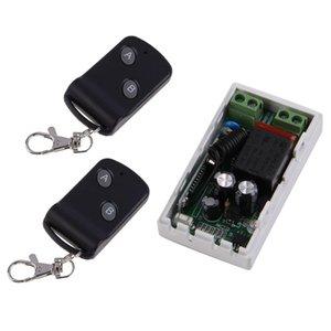 Cgjxs315mhz sem fios AC220v 1Cr 2 Botões Transmissor Receptor 2 de controlo Controladores do módulo de comutação remoto transreceptor RF