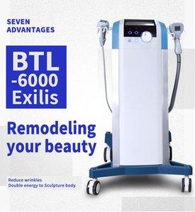 2020 NEW BTL Exilis 슬리밍 기계 EMS ABS 지방 제거 2 개 핸들 BTL 스킨 케어 바디 케어 장비 판매
