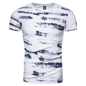 Streetwear Sleeve High Shirt Mens Men Print Quality T-shirt Summer 2020 New T Shirt Designer Men Casual Short Oumln