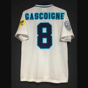 Ретро 1995-97 футбольные трикотажки Beckham Shareer Gascoigne Scholes Owen Fowler McManaman Redknapp старинные рубашки классический комплект