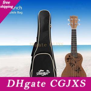 21 Inch Ukulele Bag Soft Case Gig Cotton Ukelele saco impermeável saco Hawaii quatro cordas de guitarra Mochila