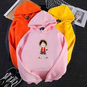 Harajuku loose print one piece hoodies Animal hip hop All-match plus size Men's sweatshirt couples fashion black new streetwear