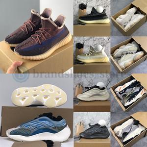 Kutu B-Ball 700 v3 Azael Alvah Arzareth Glow 500 Allık Kemik Kanye West Spor Sneakers 36-48 Ayakkabı Yeni Yecher Asriel'den Zyon Running With