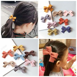 Kids Designer Head Accerssories Childrens Woolen Bow Hair Clip Corduroy Headdress Baby Hair Accessory Girls Headdress Princess Hair Clip Hai