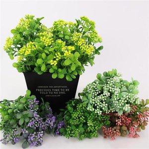 새로운 식물 과일 장식 인공 밀라노 플라스틱 꽃 식물 년도 홈 잔디 파티 웨딩 가짜 IQGlg bbgargden 밀라노 액세서리