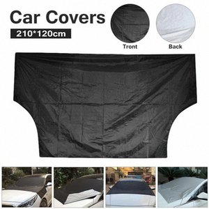 210*120cm Car Umbrella Covers Windscreen Cover Heat Sun Shade Anti Snow Frost Ice Shield Dust Protector Ice Frost Winter upYD#