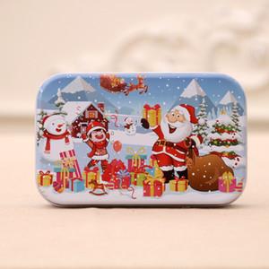 60pcs / set de Navidad rompecabezas de madera de los niños juguetes de Santa Claus muñeco de nieve doble Jigsaw niños temprana de rompecabezas educativo de regalo Decoración GGA3678-2