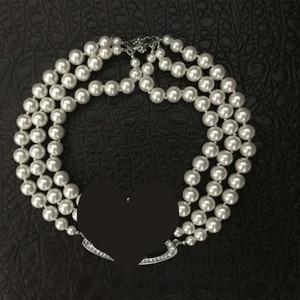 2020 mehrschichtiges Perlen-Kette Orbit Halskette Frauen Mode Strass Satelliten Kurze Halskette für Geschenk-Partei-Qualitäts-Schmuck