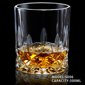 Whiskey Wine glass Creative spirit glass Household water cup Wine set Glass cup