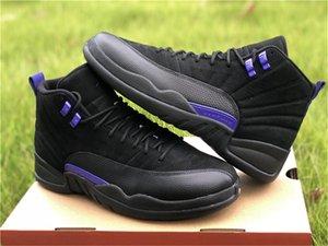 I progettisti Air NakeskinGiordaniaRetro 12 12s scuro Concord pallacanestro Scarpe da ginnastica autentica CT8013-005 nero Sneakers 2020 Stampa