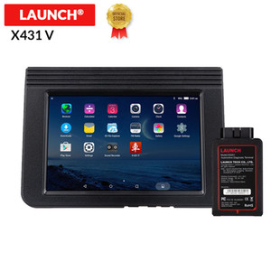 "LAUNCH X431 V 8"" INCH auto diagnostic tool full system Bluetooth Wifi X 431 V Scanner with 2 year free update pk ms908"