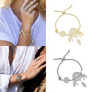 MINA BEAR neue Art und Weise Original 1: 1 hohe Qualität Monac Stil Traumfänger Armband, Damen Geschenk, Damen Schmuck geschnitzt Logo