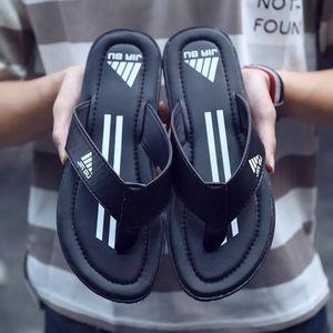 Luxury high-end brand Summer Bathroom Slippers men sandals Men Non-slip Indoor Home Slipper Outdoor Letter Flip Flops FREE SHIPPING
