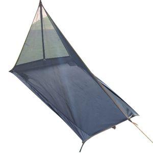 Ultralight Outdoor Camping Tent Mosquito Net Durable Tente Single Layer Tenda Summer Professional Hiking Trekking Climbing L-2